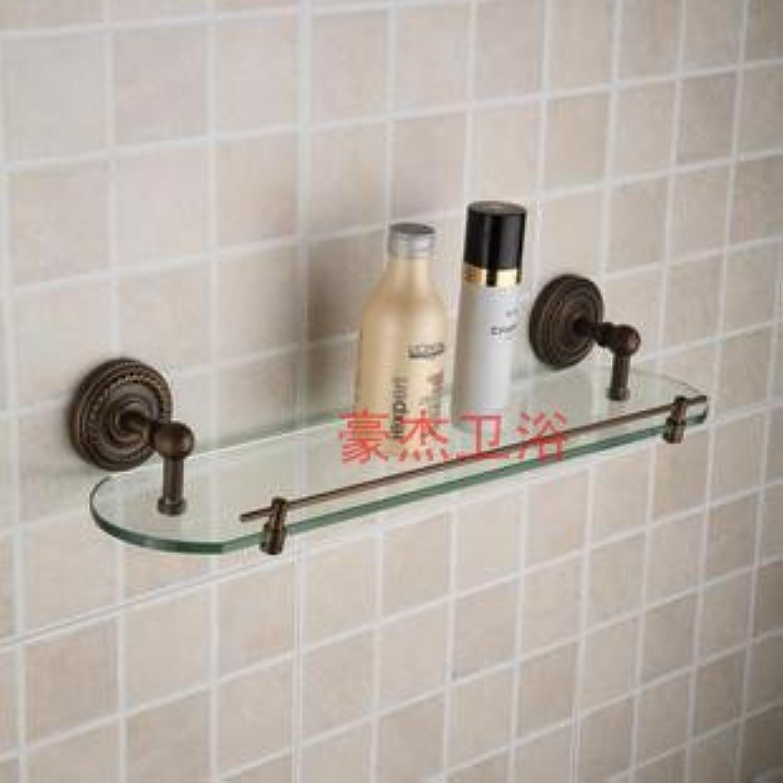 European antique bathroom single-layer glass shelf-@wei