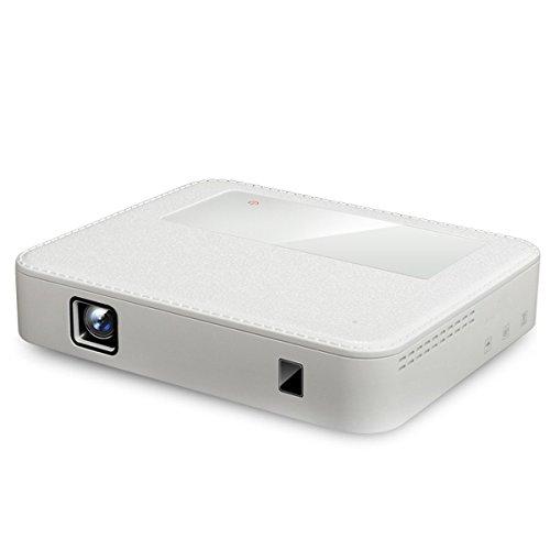 RUXMY Micro Proyector H3000 Teléfono Móvil Inalámbrico Conectado Directamente Al Proyector Portátil 1080P Proyector HD
