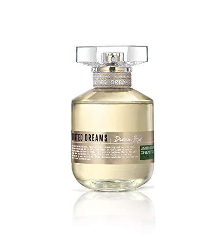 United Dreams Dream Big by Benetton Eau De Toilette Spray 2.7 oz / 80 ml (Women)