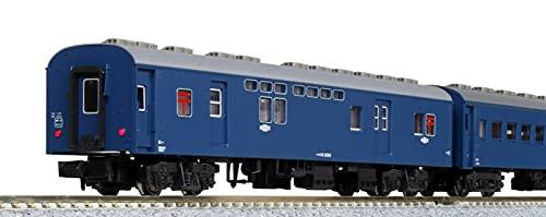 KATO 10-034-1 N Gauge Old Passenger Car Set, Blue