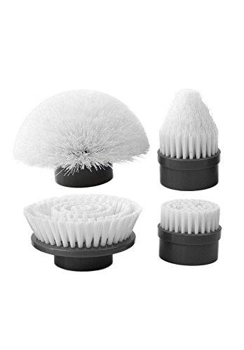 Turbo Scrub Extra cepillo Kit de accesorios, color blanco
