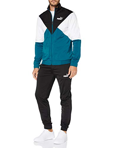 PUMA CB Retro Track Suit CL Chándal, Hombre, Digi/Blue, S