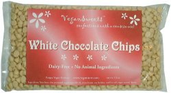 VeganSweets White Chocolate Chips, 12 oz. Bag