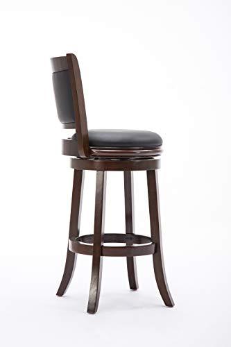 Boraam 48829 Augusta Bar Height Swivel Stool