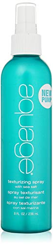 AQUAGE SeaExtend Salt Texturizing Spray, 8 Oz, Volume-Building Styling Spray Infused with Magnesium-Rich Dead Sea Salts, Adds Thickness and Helps Create Random Texture