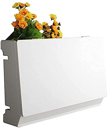 KAXO Estante Flotante Conjunto de Pared Conjunto de Pared Caja de Alenamiento M de Pared Enrutador Creativo Cubierta de Zócalo para Dormitorio Sala de Estar Office Tv Gabinete Wifi Game Console Dvd C