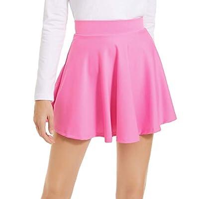 NexiEpoch Mini Skater Skirt for Women – Basic Versatile Stretchy Flowy Casual Skirt