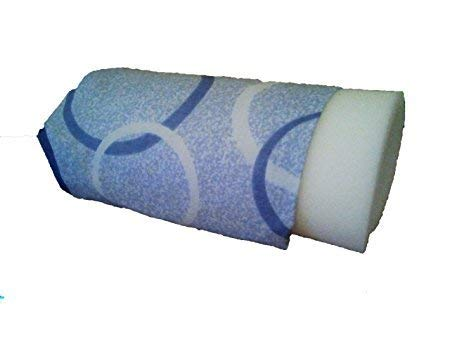 Elna Dampfpresse Bezug und Schaumstoff, 100% Baumwolle, 10 mm Schaumstoff, 62 cm x 24 cm