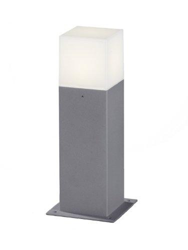Trio Leuchten LED Außen-Wegeleuchte, Aluminiumguss, inklusiv 1 x E14, 4 W, Höhe 30 cm, titan 520060187