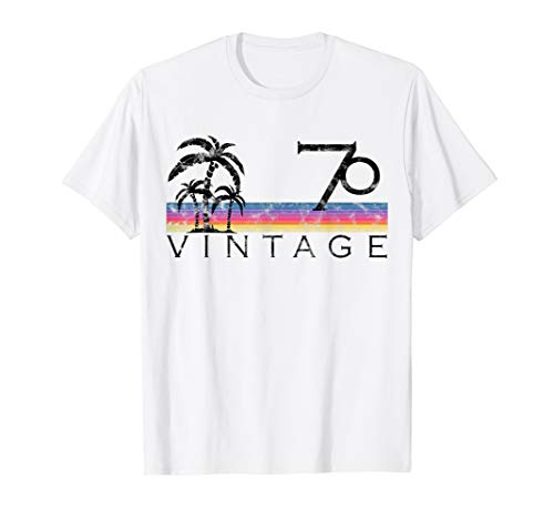 Vintage Surfing 1970 Pacific Ocean Sunset Birthday Gift For T-Shirt