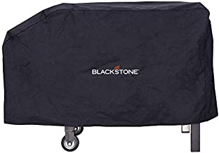 """Blackstone 1529 Signature Accessories (28 Inches) –Water, Weather Resistant Heavy Duty 600D Polyester Outdoor BBQ Grilling Cover –– Fits 28"""" Griddle with Shelf Attached & Tailgater-Black"""