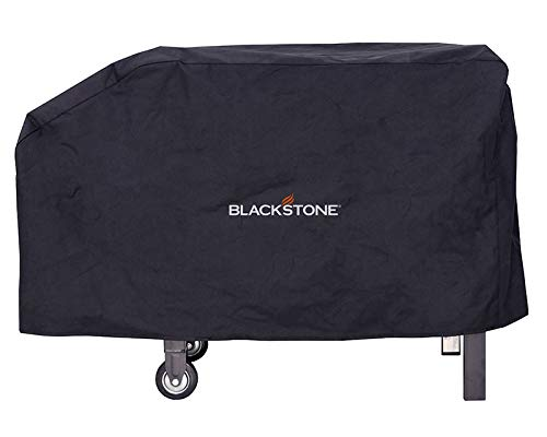 "Blackstone 1529 Signature Accessories (28 Inches) –Water, Weather Resistant Heavy Duty 600D Polyester Outdoor BBQ Grilling Cover –– Fits 28"" Griddle with Shelf Attached & Tailgater-Black"