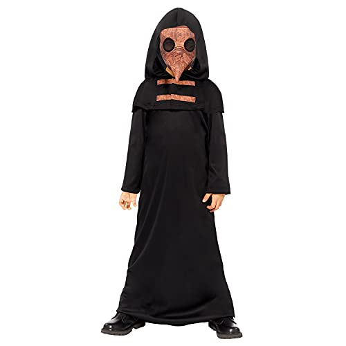 amscan 9912002 - Disfraz infantil de doctor de la peste de Halloween, 8-10 aos