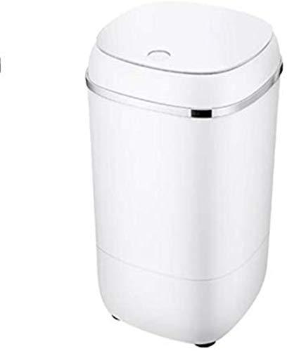 RDJM Lavadora portátil Lavadora Completa compacta portátil 8 LBS Capacidad de Carga Lavadora de Capacidad de Lavadora/Spinner con Bomba de Drenaje (Color: Blanco) (Color : White)