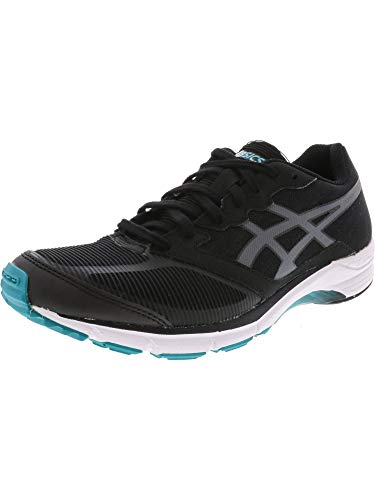 ASICS Men's Lyteracer TS 6 Black/Carbon Grey Ankle-High Running Shoe - 9M