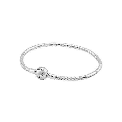 PANDORA Smooth Silver Clasp Bracelet 59072819