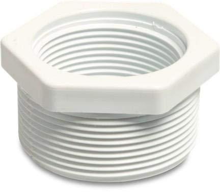 piscine Tube Fittings – 5,1 - 3,8 cm fileté Réducteur