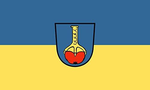 Unbekannt magFlags Tisch-Fahne/Tisch-Flagge: Ehningen 15x25cm inkl. Tisch-Ständer