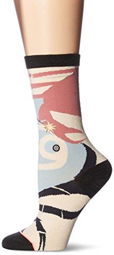 Stance Women's Cancer Zodiak Crew Sock, Multi, Medium