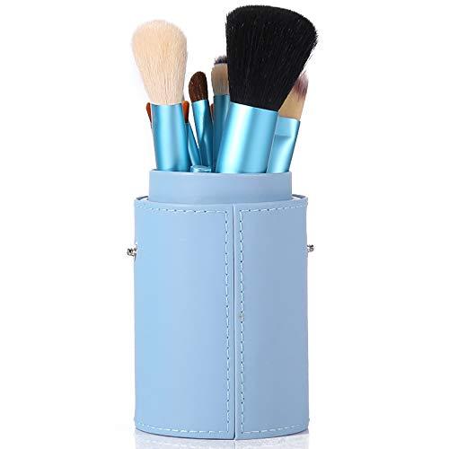 Pinceau De Maquillage Professionnel Set 12 Tube Brosse Débutant Ensemble Complet De Maquillage Maquillage Brosse Baril Brosse Outil Combinaison Violet clair