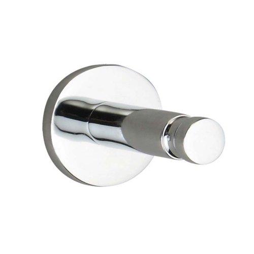 Nie Wieder Bohren Smooz Klebehaken, verchromt, rundes Design, hohe Haltekraft (bis 4kg), 37mm x 37mm x 37mm