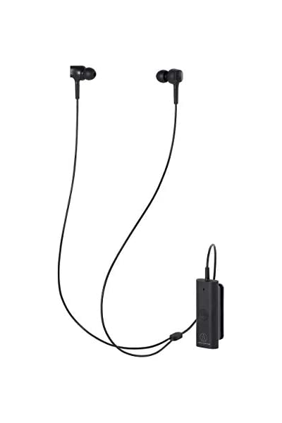 Audio Technica Ath Anc100bt Wireless Noise Cancelling In Ear Headphones Black Musical Instruments