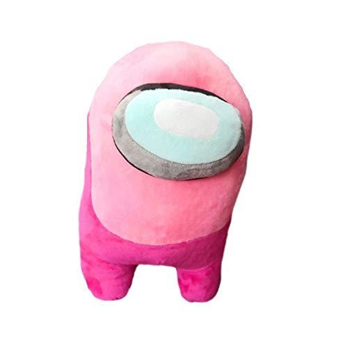 SMchwbc 2020 Nuevo Juego de muñeca Alrededor de Entre Nosotros (Color : Pink bulging Eyes, Size : 20cm)