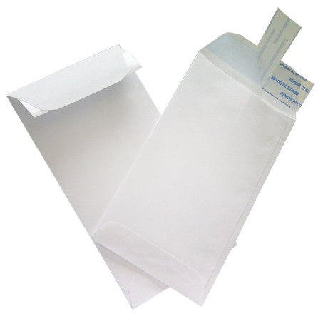 #7 Coin White Peel & Seal Envelopes for Small Parts, Cash, Jewelry Etc (25 Pack)