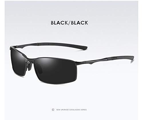 Gafas de sol Aoron para hombre/mujer, diseño clásico de espejo de conductor, gafas de protección solar marco de metal UV400 gafas anti deslumbramiento al por mayor