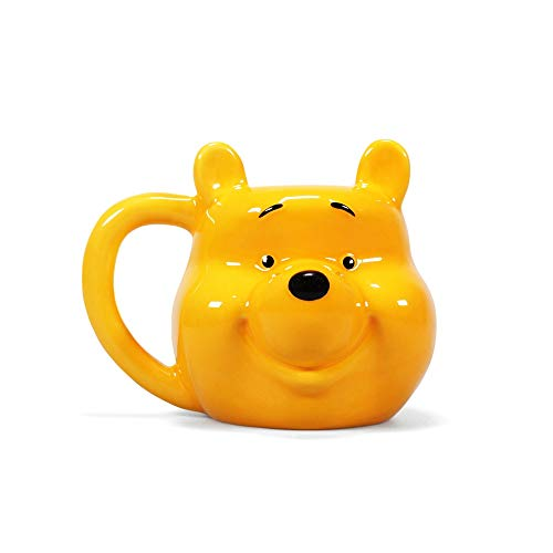 Half Moon Bay 3D The Pooh Winnie Becher, Gelb, 500 ml – 15 W x 12 H x 13 cm (D)