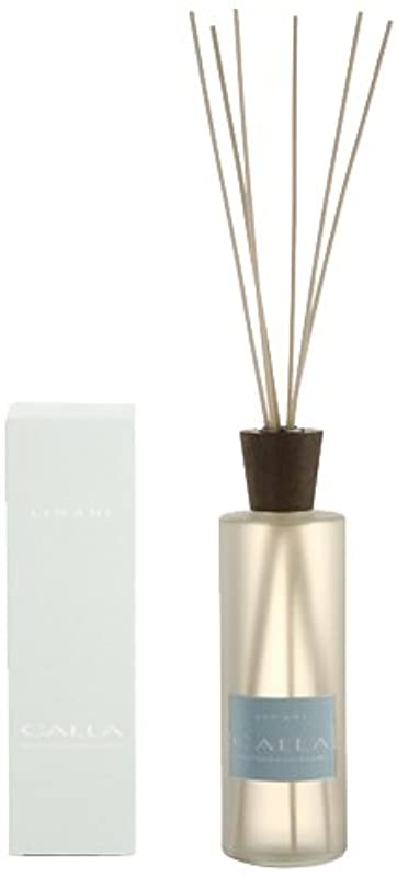 抵当チップ拡声器LINARI リナーリ ルームディフューザー 500ml CALLA カラー ナチュラルスティック natural stick room diffuser