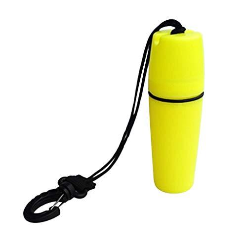 SGerste - Caja de seguridad flotante para guardar dinero y correa para deportes al aire libre