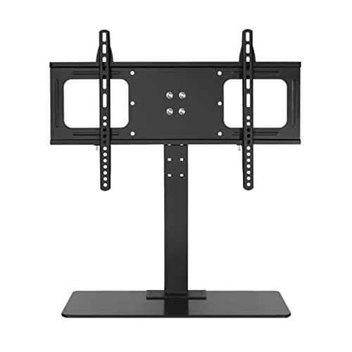 YYBD Soporte TV de Pie Universal con Base y gestión de Cablespara Pantallas de 32'-65' Soporte para TV Sobremesa Ajuste de Altura máximo VESA 600x400 mm
