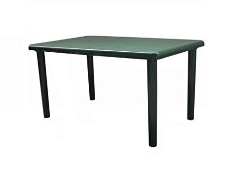 resol Mesa de jardín Exterior Rectangular Olot 140x90 - Color Verde Oscuro