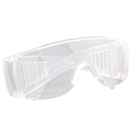 HEALLILY Gafas de Seguridad en El Lugar de Trabajo Gafas Gafas Transparentes a Prueba de Viento Gafas de Motocicleta Fuera de Carretera Gafas de Carreras Gafas de Montar para Laboratorios