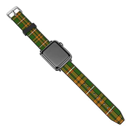 Correa de repuesto para reloj Apple Watch de 38 mm y 40 mm, correa de repuesto para iWatch Series 5/4/3/2/1, O'Neill Tartan restringido