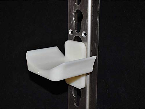 Nedlandic Satz von 10 Stangenauflagen Kunststoff, 20 mm tief