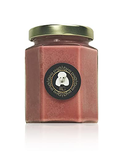 Rainier's Gifts Classic Highly Scented Candle (Seaside Orchid Garden) - Organic Soy Wax Jar Candle 5.5 oz - Long Lasting Fragrance Aromatherapy for Home & Office Decoration