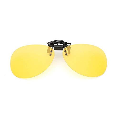 ZYG999 Polarisierte Sonnenbrille mit Clip-On-Myopie-Sonnenbrille Fahrer, der Nachtsichtbrille fährt
