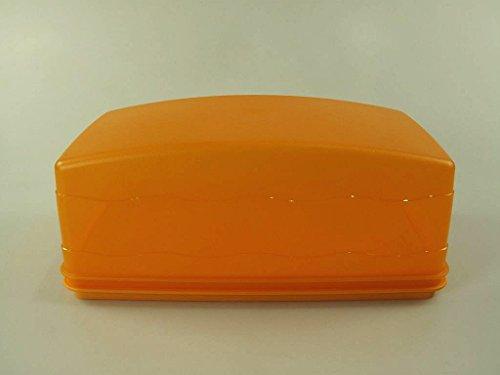 TUPPERWARE Junge Welle Kastenkuchenbehälter orange J29 Kuchen Kastenkuchen