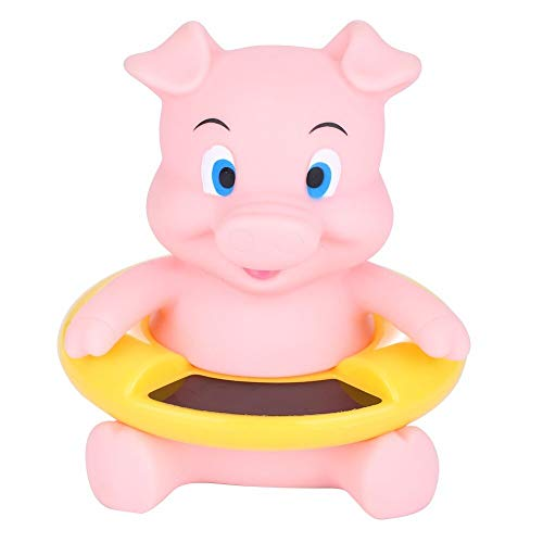 Ylout Bébé Jouets De Bain, Thermomètre Douche De La Température De l'eau Pig Bear Bébé Testeur De Température De Baignoire Enfants Bain Jouets Soins du Bébé