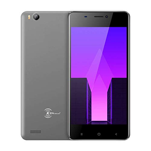 Smartphone Libre de 4.5 Moviles Ken XIN DA V6, Android 7.0 Phone Dual Sim Teléfonos móviles desbloqueados, 3G Android Cellphone 4.5 Pulgadas, Quad Core 1g / 8g GPS WiFi Teléfono Celular (Gris)