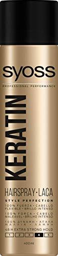 SYOSS - Laca Keratin Style Perfection - 2 uds de 400ml 48 horas de...