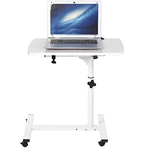 GYF Multiple Uses Computer Desk Portable Removable Laptop Desk with Wheels Work Table for Office and Home Study