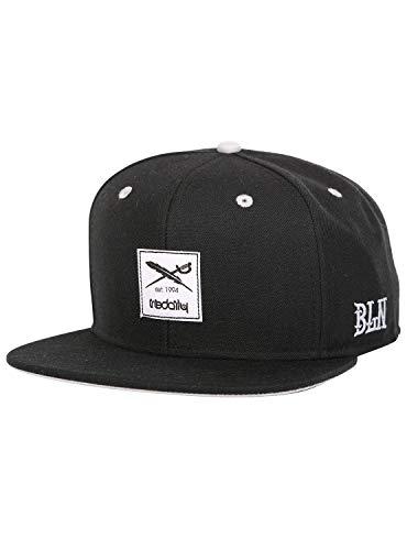 IRIEDAILY Herren Daily Flag Snapback Cap Styled in Berlin, Black, One Size