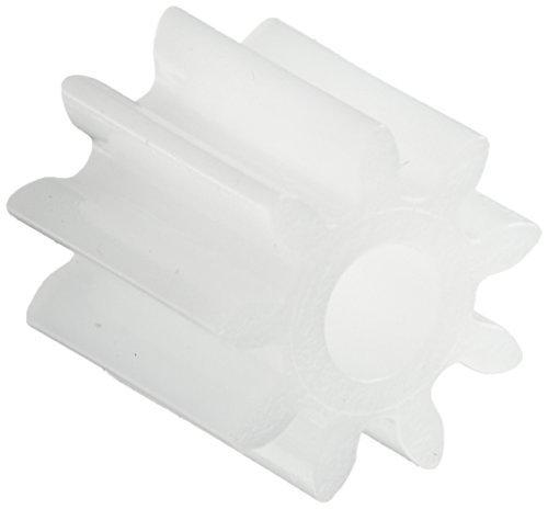 DealMux Piñón de engranaje de motor de plástico de 9 dientes y 5,5 mm x 2 mm para modelo RC (30 piezas)