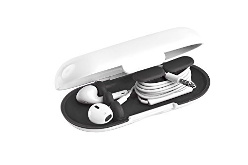 Dotz Earbud Case for Cord and Cable Management, Black (EBC38M-CK) Photo #3