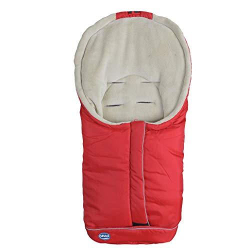 Urra 800-0000-02 Fußsack Standard Klein, Rot, 500 g