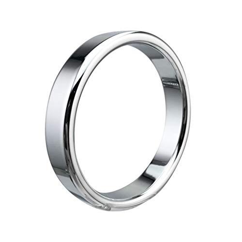 yasu7 Metall Penis-Ringe, Qualitäts-Edelstahl-Hahn-Ring-Geschlechts-Verzögerungs-Spielzeug für Männer