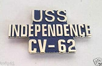 Pin for Hats - US Navy USS Independence CV-62 Military Veteran Hat Pin - Decoration for Clothes